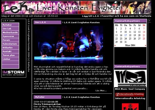 L.E.K. (Livet, evigheten och konsten)
