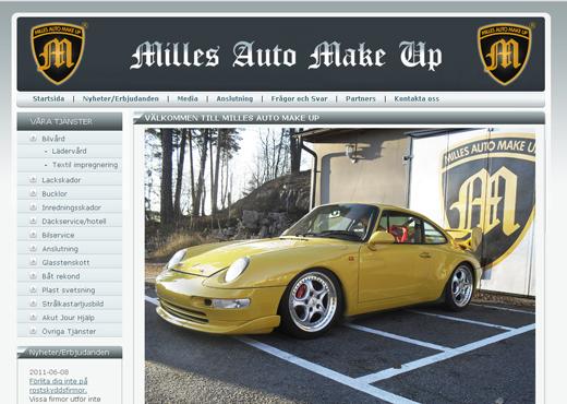 Milles Auto Make Up - Bilvård och lackskador