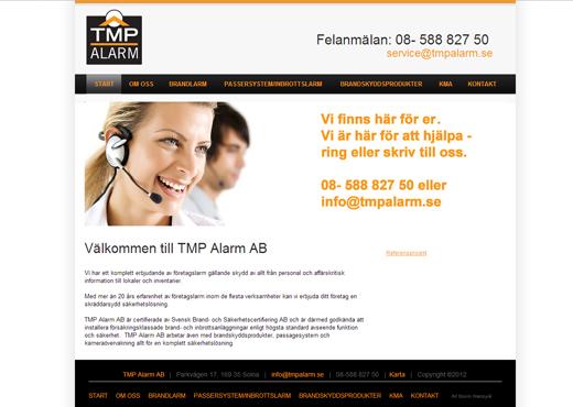 TMP Alarm AB