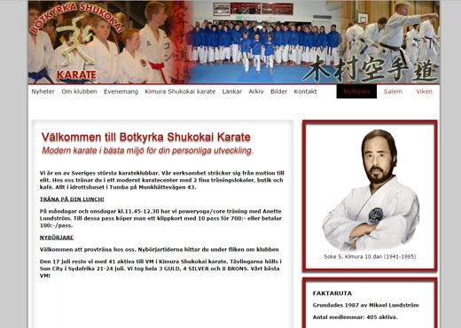 Botkyrka Shukokai Karate