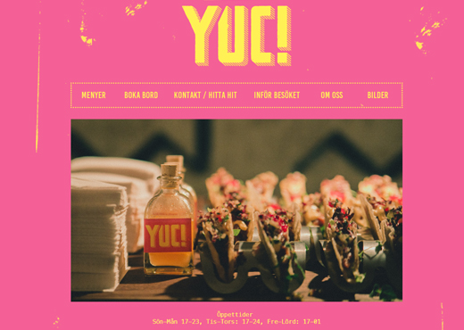 YUC -mexikansk mat