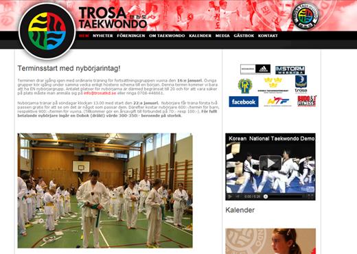 Trosa Taekwondo